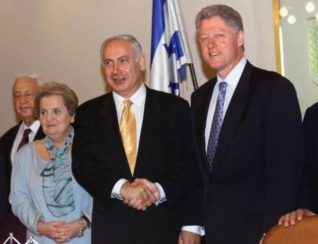 Clinton Netanyahu