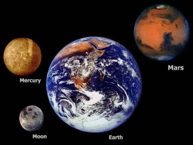 earth big