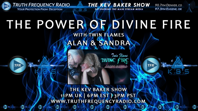 The Power Of Divine Fire w/Twin Flames Alan & Sandra : TFR LIVE