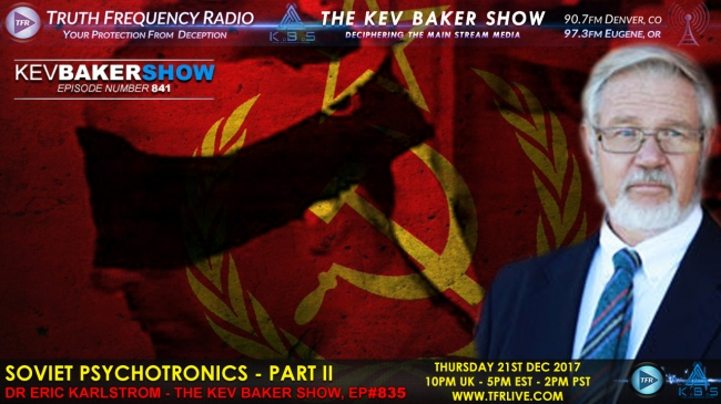 Soviet Psychotronics & US Mind Control : TFR LIVE : Truth