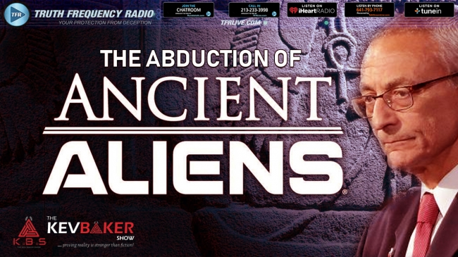 Dodgy Disclosure & The Abduction Of Ancient Aliens : TFR LIVE