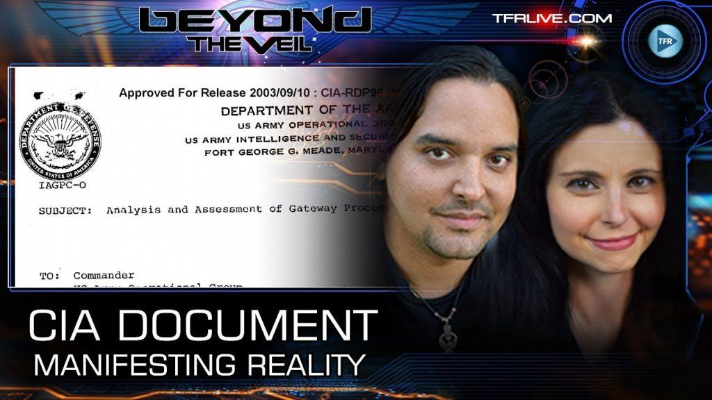 LEAKED: CIA Document reveals Telepathy, Manifest Reality